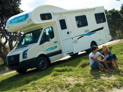 4-Bett Motorhome von Cheapa Campa Neuseeland