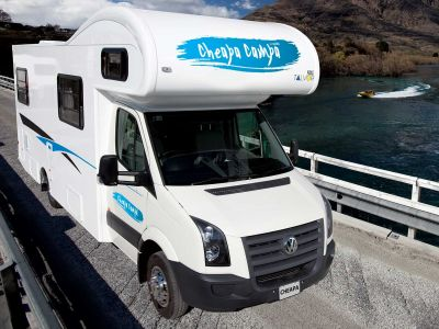 6 Bett Motorhome von Cheapa Campa Neuseeland