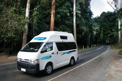 Unterwegs mit dem Camper Hitop von Cheapa Campa Neuseeland