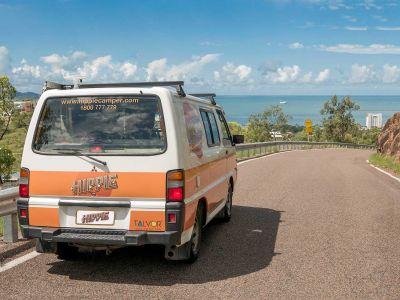 Unterwegs mit dem Camper Drift von Hippie Camper Australien