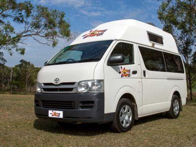 Camper Hitop von Hippie Camper Australien