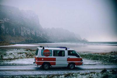 Naturkulisse vor dem Camper Drift von Hippie Neuseeland