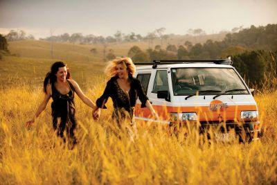Pause mit dem Camper Drift von Hippie Neuseeland