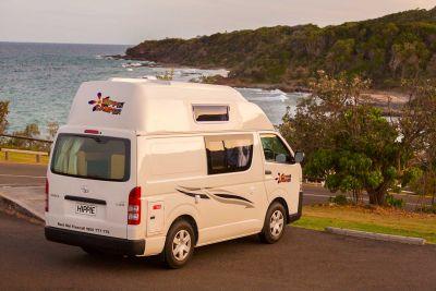 Unterwegs mit dem Camper Endeavour von Hippie Neuseeland