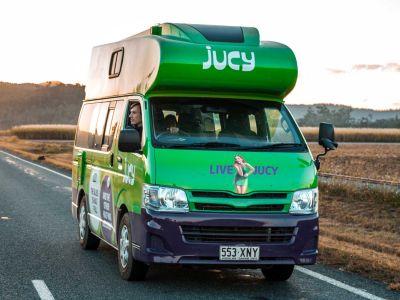 Kompaktcamper Condo von Jucy Australien