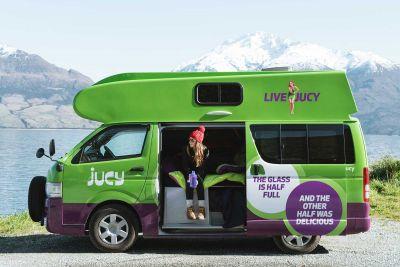 Kompaktcamper Condo von Jucy Neuseeland