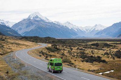 Unterwegs mit dem Kompaktcamper Condo von Jucy Neuseeland