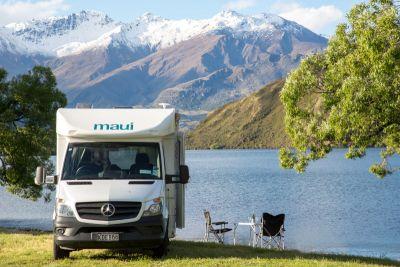 Picknicken am See mit dem Cascade Elite von Maui Neuseeland