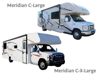 Angebot Budget 2 Meridian C-Large oder C-XLarge Wohnmobil in Kanada