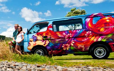 Escape Rentals Standard Camper Neuseeland
