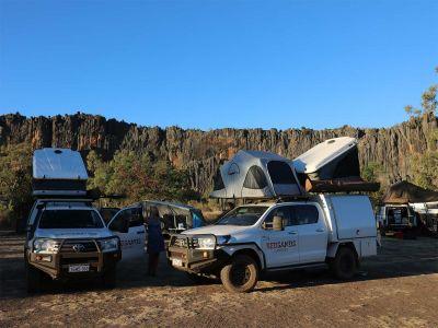 Red Sands Camper Allrad Australien für 2 Personen