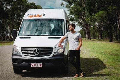 Halt mit dem 2-Bett-Camper Aquila von Star RV Australien