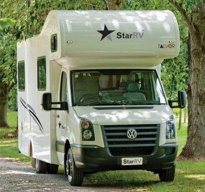 6-Bett Camper Hercules von Star RV Neuseeland