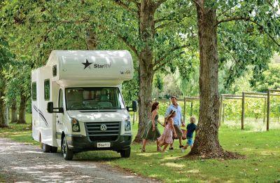 Unterwegs mit dem 6-Bett Camper Hercules von Star RV Neuseeland