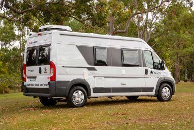 Pause mit dem Camper Aquila von Star RV Neuseeland