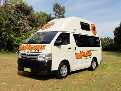 Camper Kuga Travellers Autobarn Neuseeland
