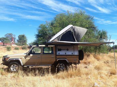 Asco Africa Toyota Landcruiser 4WD  HardTop Luxus Dachzelt und Markise