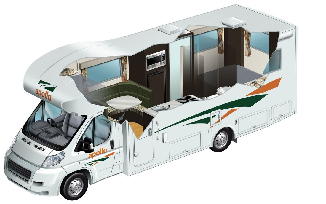 euro slider mieten von apollo motorhomes in australien. Black Bedroom Furniture Sets. Home Design Ideas