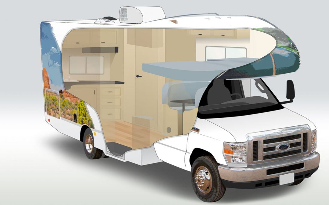 C19 Compact Motorhome Rental Of Cruise Canada In Canada