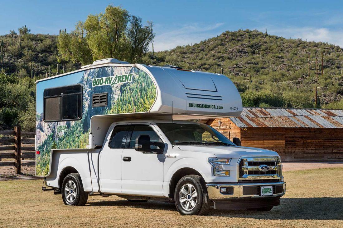 T17 Truck Camper Rental Of Cruise America In Usa Bestcamper